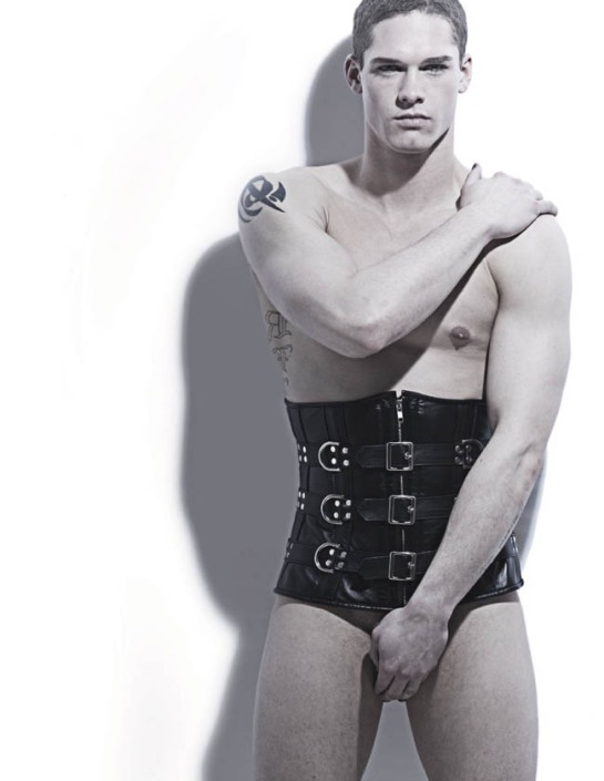 guy in corset